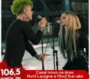 Avril Lavigne e Mod Sun são flagrados aos beijos